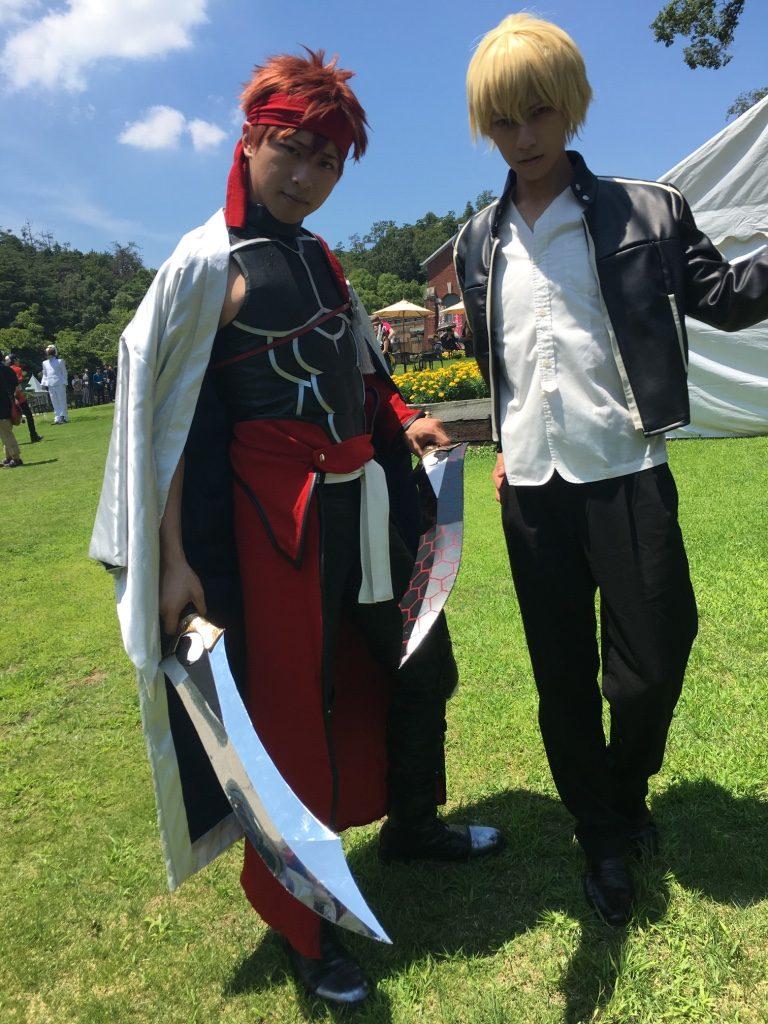 この日は初めて日本代表が揃いました 左 Sky Re 右 成海悠喜